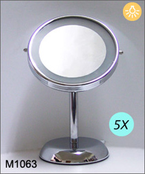 #M1063 tabletop mirror, single side